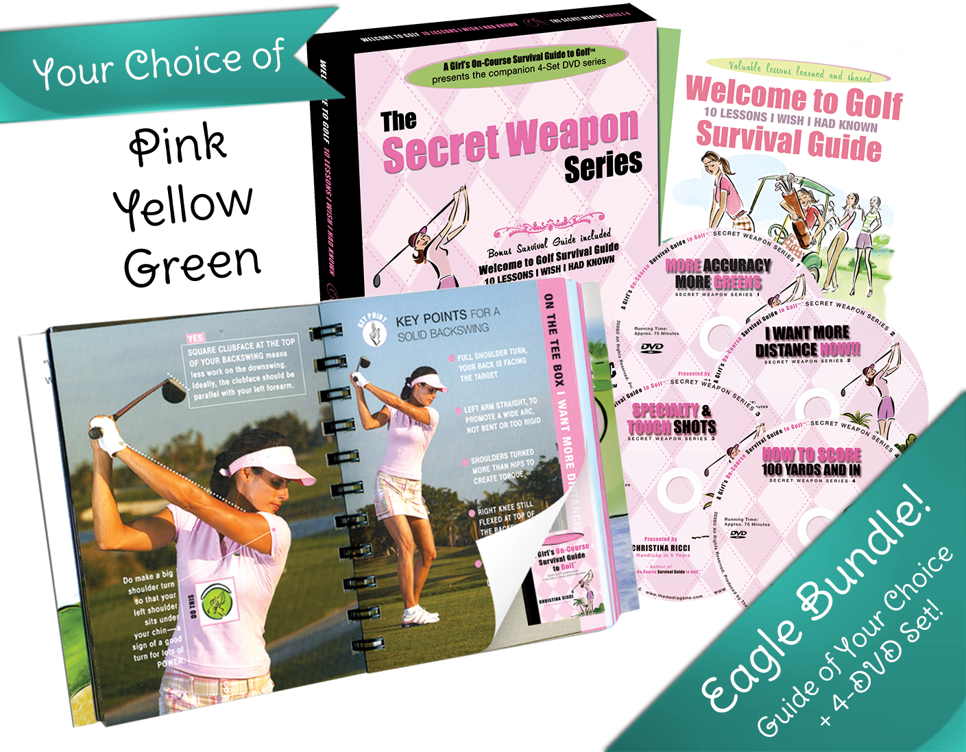 best golf guides for women