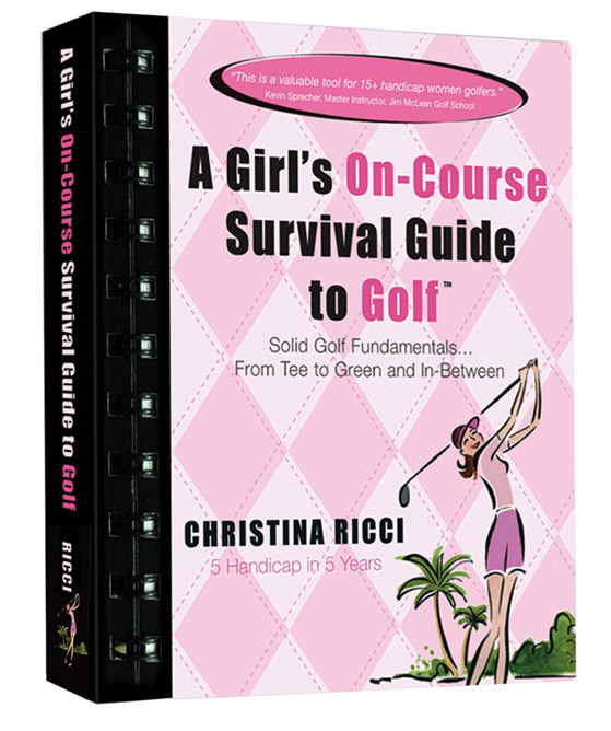 Pink Book is a best selling women's golf book